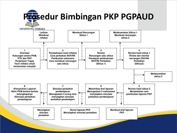 Prosedur bimbingan pkp pgpaud