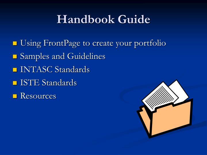 Handbook Guide