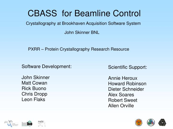 CBASS  for Beamline Control