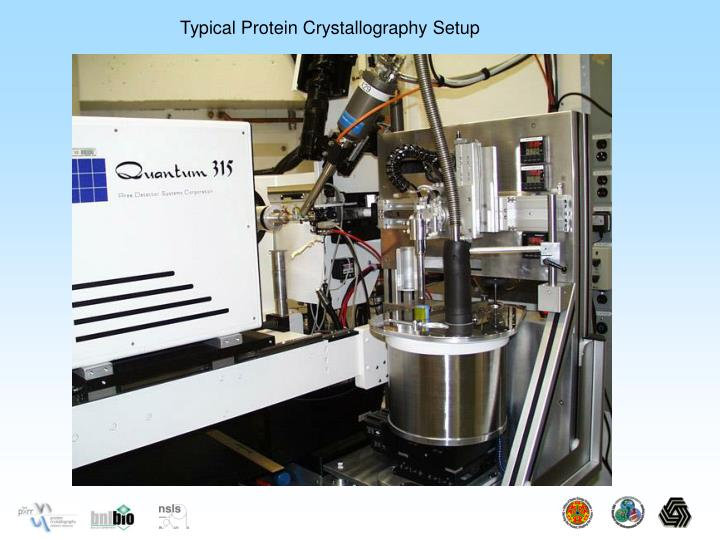 Typical Protein Crystallography Setup
