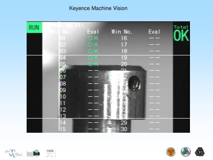 Keyence Machine Vision