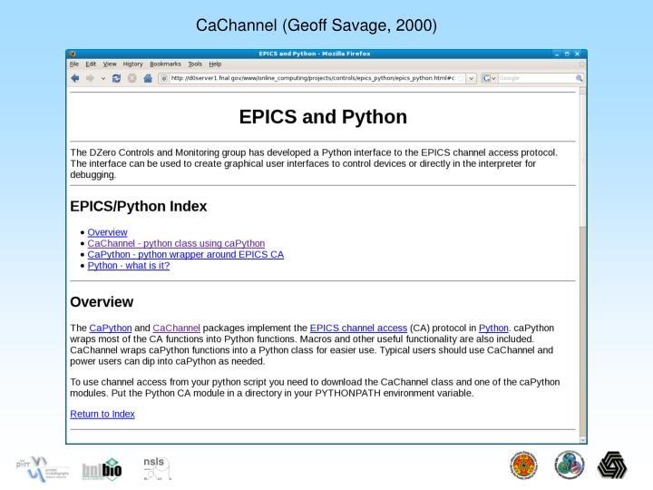 CaChannel (Geoff Savage, 2000)