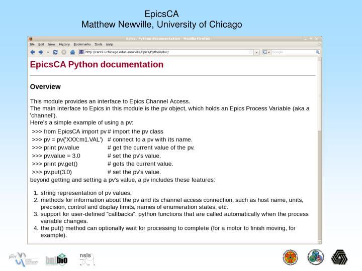 EpicsCA