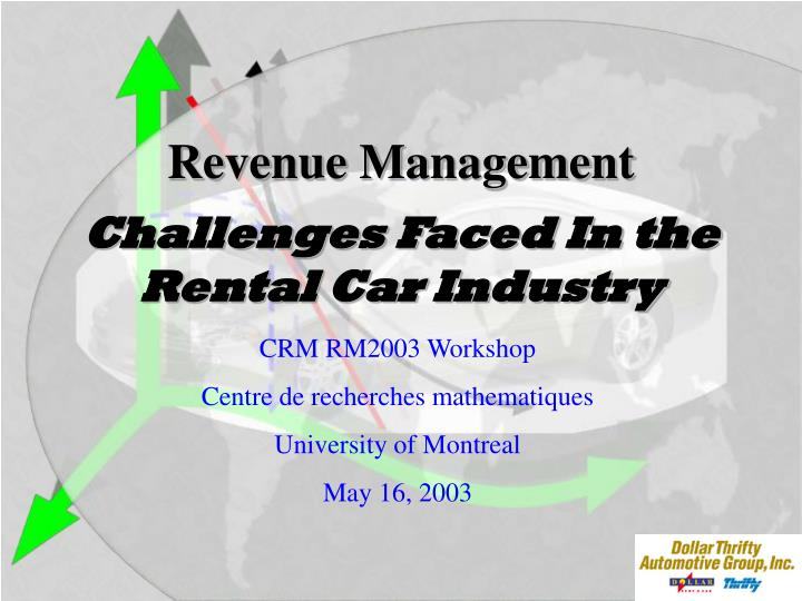 challenges faced in the rental car industry n.
