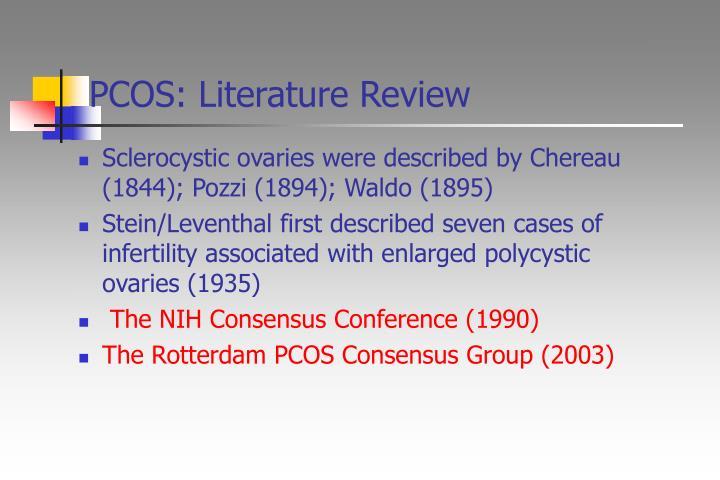 PCOS: Literature Review