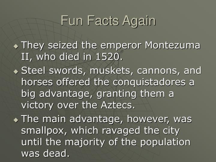 Fun Facts Again