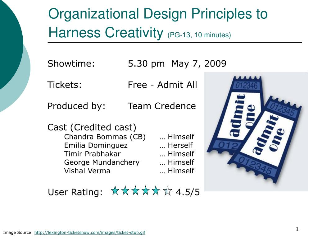 Ppt Organizational Design Principles To Harness Creativity Pg 13 10 Minutes Powerpoint Presentation Id 5202384