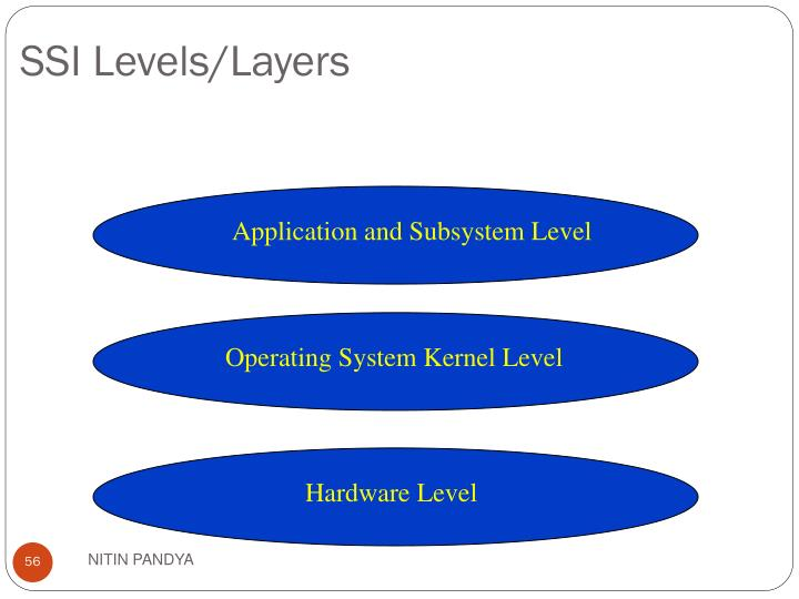 Application and Subsystem Level