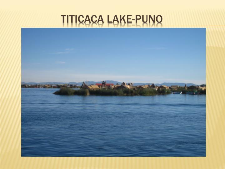 TITICACA LAKE-PUNO