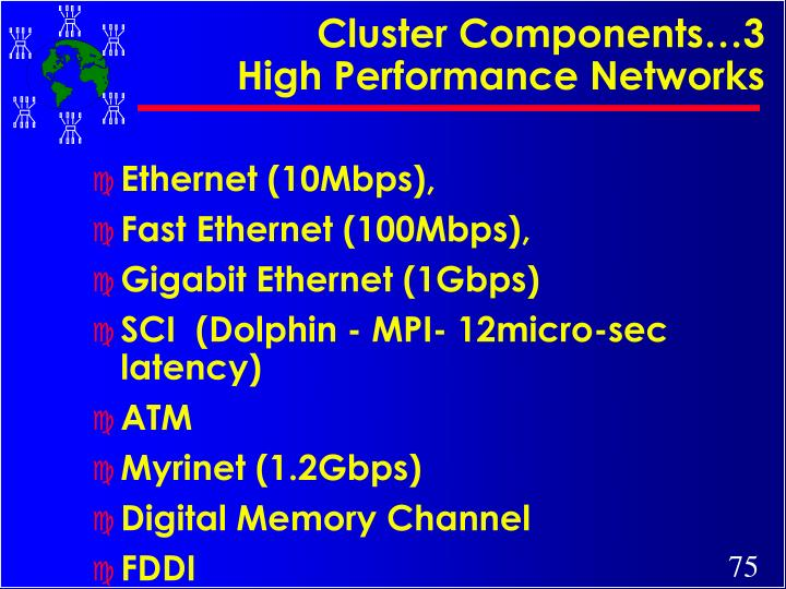 Cluster Components…3