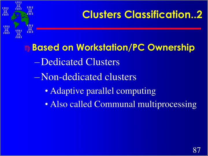Clusters Classification..2