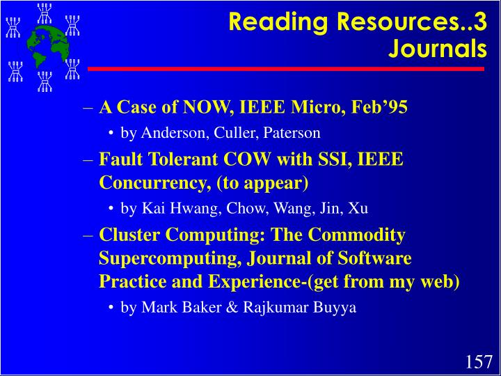 Reading Resources..3