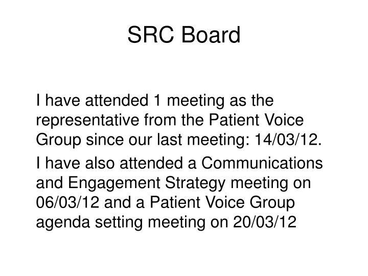 Src board