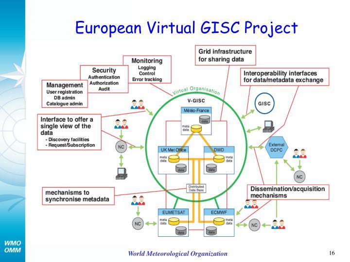 European Virtual GISC Project