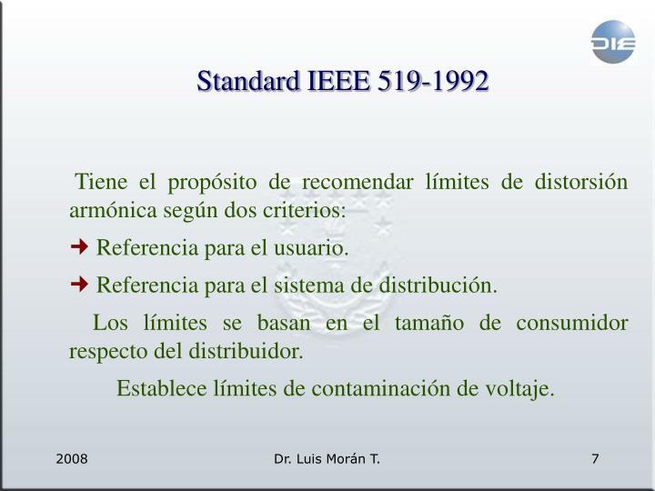 Standard IEEE 519-1992