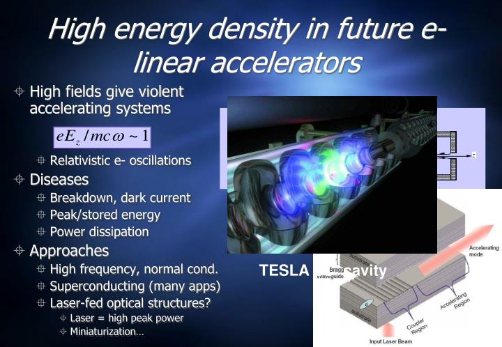 Linear accelerator schematic