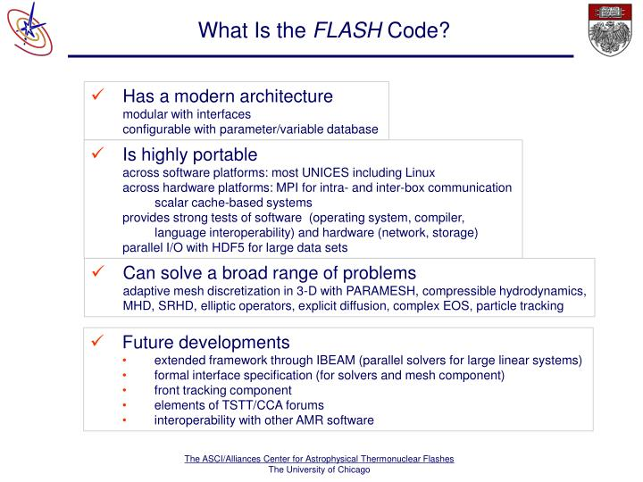 What is the flash code