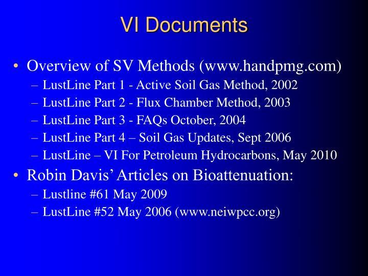 VI Documents