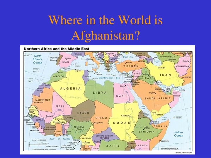 Where in the world is afghanistan