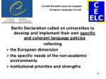 conseil europ en pour les langues european language council17