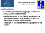 conseil europ en pour les langues european language council25