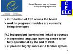 conseil europ en pour les langues european language council39
