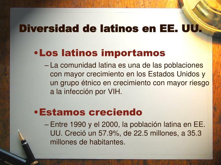 Diversidad de latinos en EE. UU.