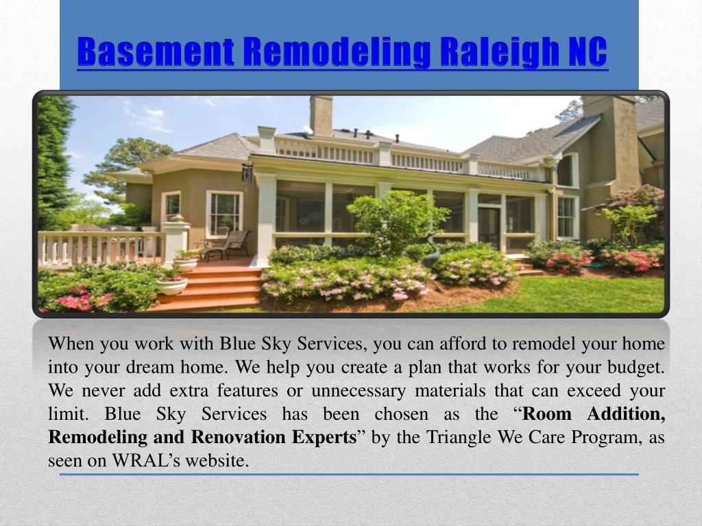 PPT - Basement Remodeling Raleigh NC PowerPoint ...