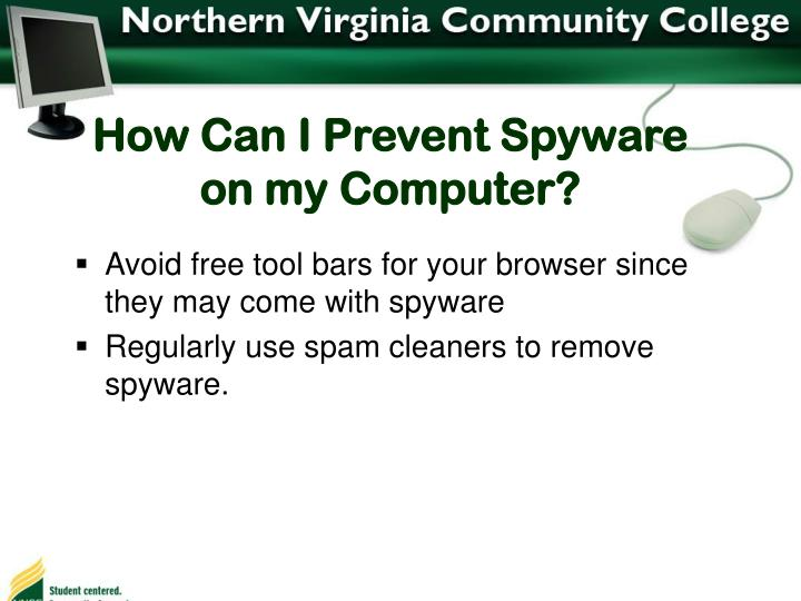 How Can I Prevent Spyware on my Computer?