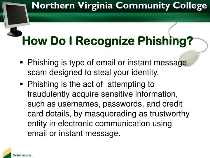How Do I Recognize Phishing?