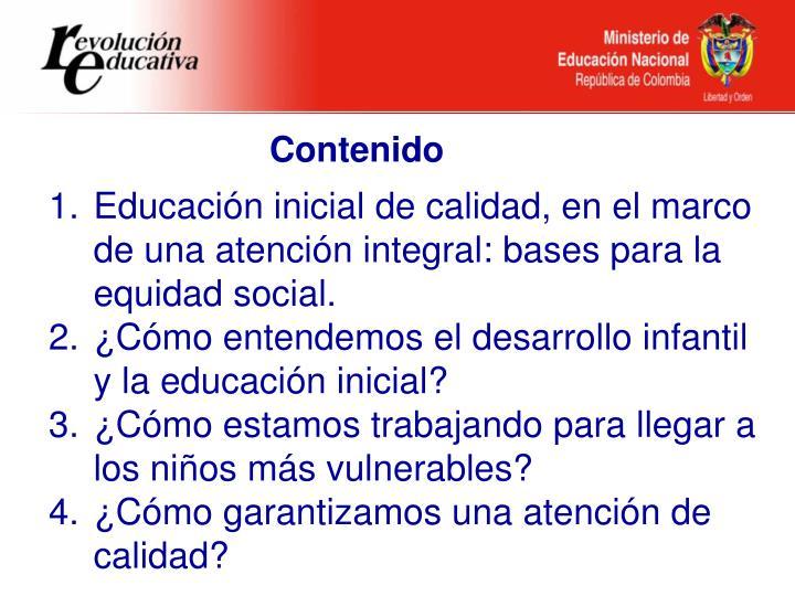 PPT - POLÍTICA EDUCATIVA PARA LA PRIMERA INFANCIA: en el marco de ...