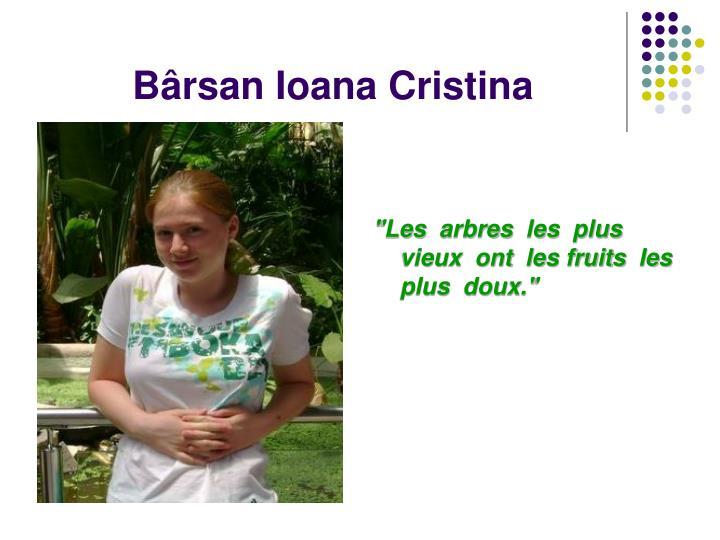 B rsan ioana cristina