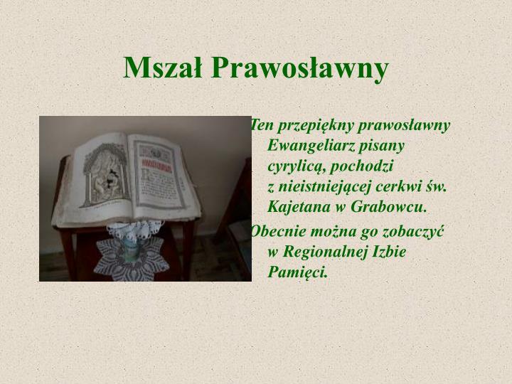 Mszał Prawosławny