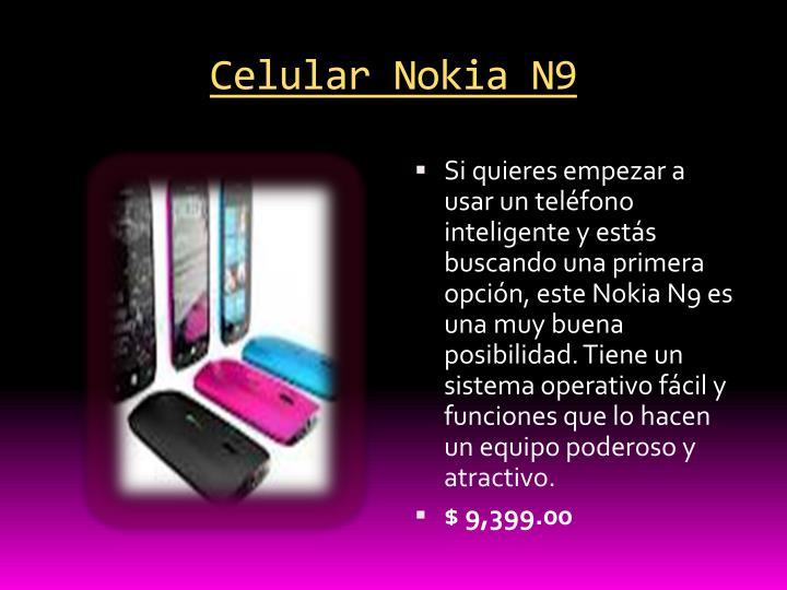 Celular Nokia N9
