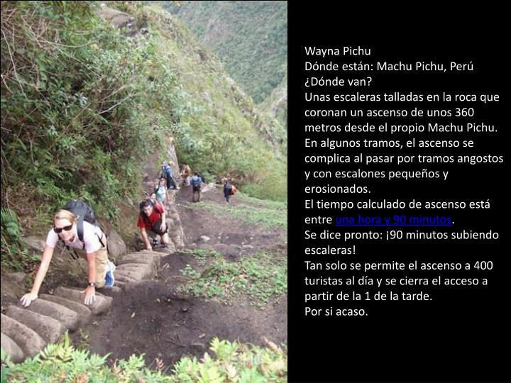 Wayna Pichu