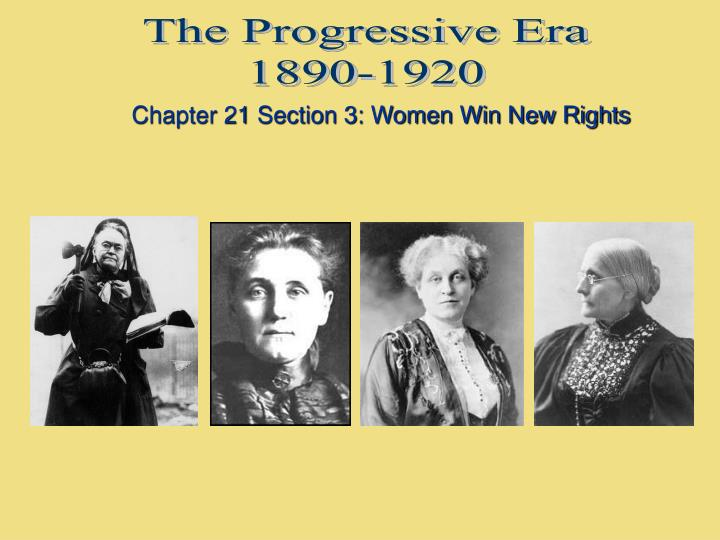 an analysis of the progressive era between 1890 and 1920 Progressive era, 1900‑1920 i progressivism begins in the city because the rapid pace of urbanization between 1890 & 1910 made city progressive critics of.