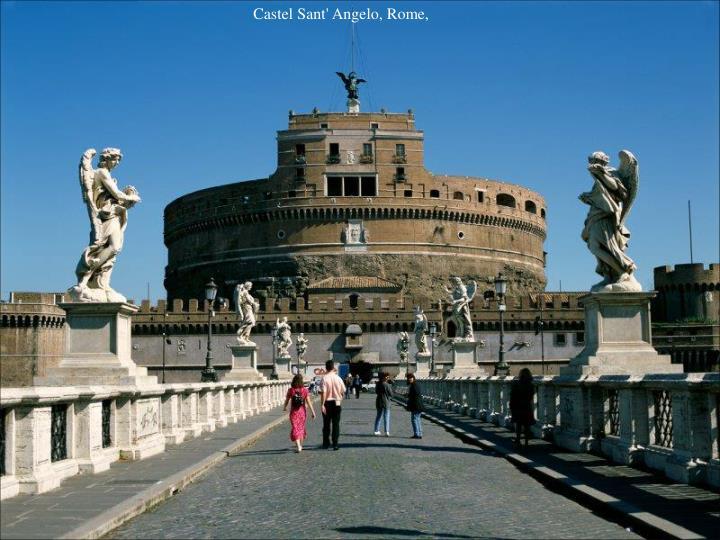 Castel Sant' Angelo, Rome,