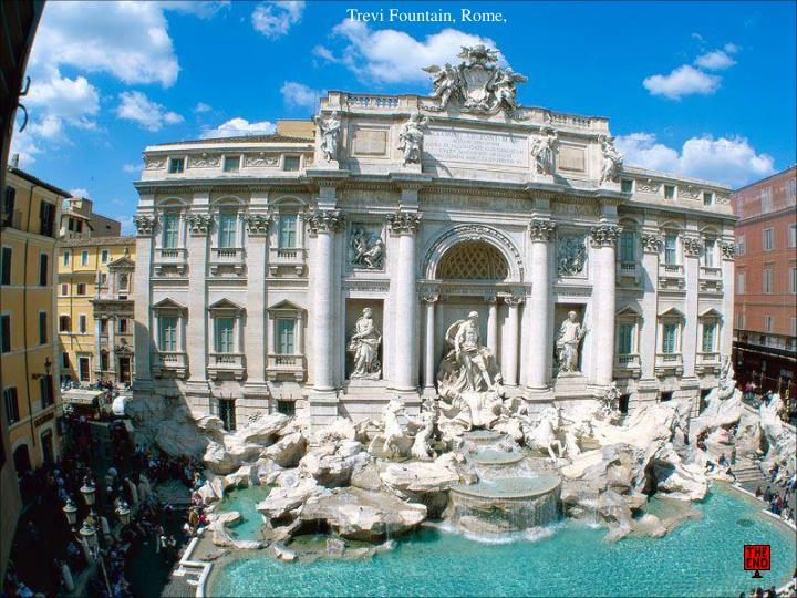 Trevi Fountain, Rome,