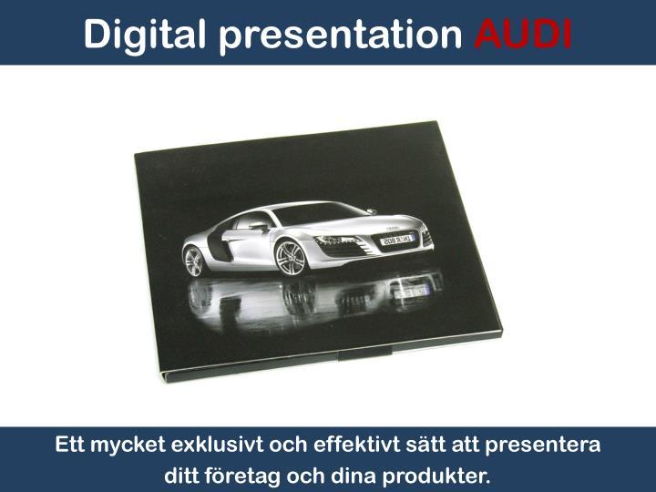 Digital presentation