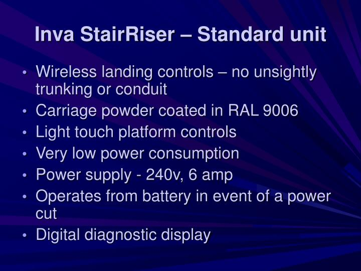 Inva StairRiser – Standard unit