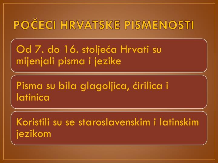 Po eci hrvatske pismenosti