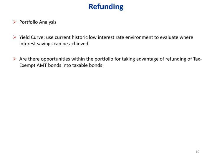 Refunding