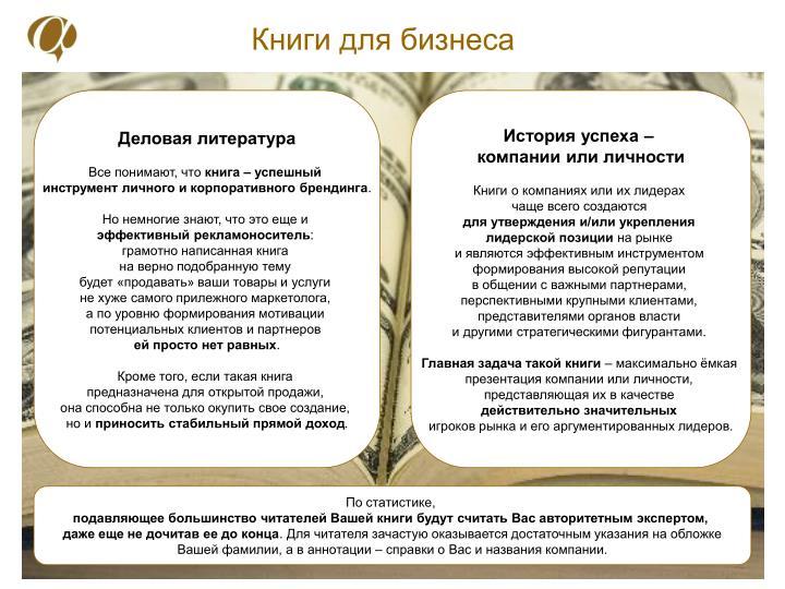 Книги для бизнеса