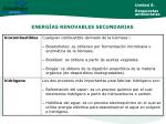 energ as renovables secundarias