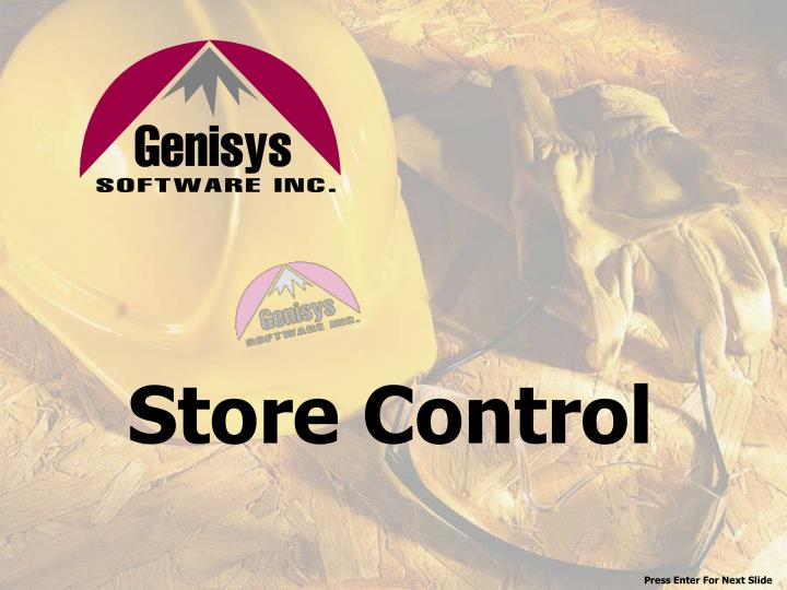 Store Control