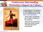controversy surrounding marketing s impact on culture1