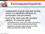 environmental sensitivity1