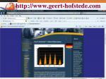 http www geert hofstede com