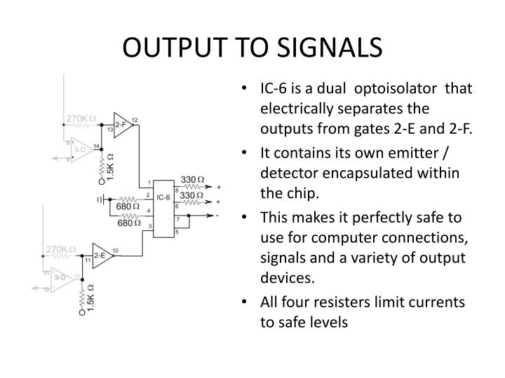 OUTPUT TO SIGNALS