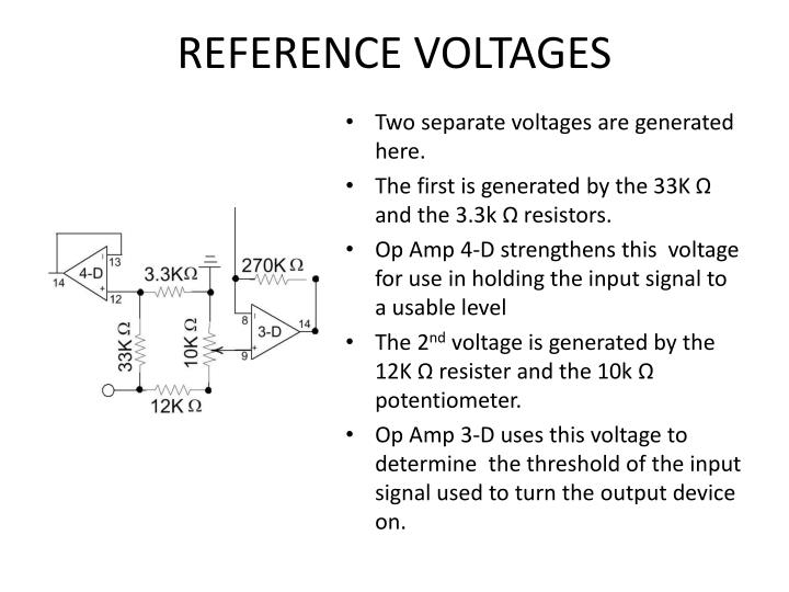 REFERENCE VOLTAGES